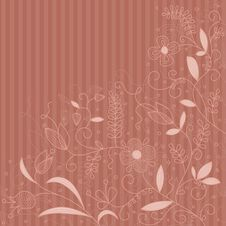 Free Vector Floral Pattern. Stock Photography - 21233272