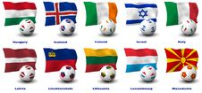 Free European Soccer Nations Stock Photo - 21234310