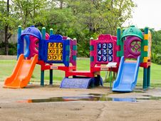 Free Children Playground Stock Images - 21234714