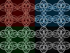 Free Celtic Knotted Seamless Royalty Free Stock Photography - 21234897