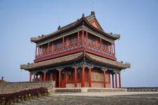 Buddhist Temple Of The Goddess Of Sea Stock Photo