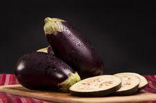 Free Eggplants Stock Photo - 21235300