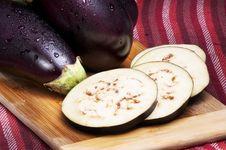 Free Eggplants Stock Image - 21235341