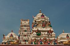 Free Sri Mariamman Temple Royalty Free Stock Photos - 21235348