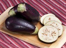 Free Eggplants Royalty Free Stock Images - 21235359