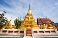 Free Stupa In Thailand Royalty Free Stock Photography - 21235647