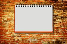 Free Notebook Royalty Free Stock Photography - 21236137