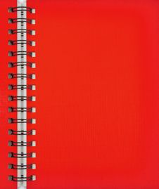 Free Red Note Book Stock Images - 21236154