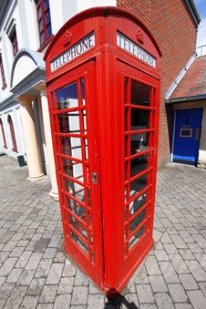 Free Telephone Box In London, UK Stock Photography - 21236592