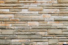 Free Stone Brick Wall Background Royalty Free Stock Photo - 21236805