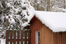 Free Winter On The Farm Stock Photo - 21237270