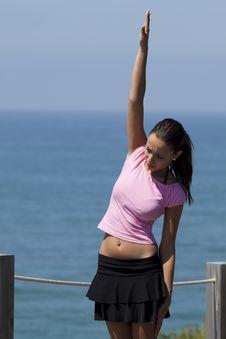 Free Woman Gymnastic Stock Photo - 21237350