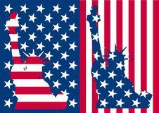 Free Usa Flag Liberty Stock Photography - 21237692