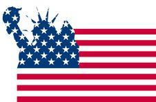 Free Usa Flag Liberty Royalty Free Stock Image - 21237696