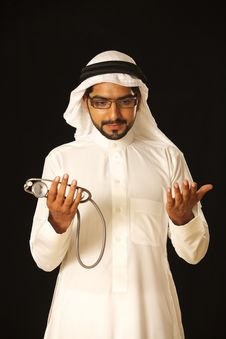 Free Arab Doctor Stock Photo - 21237730