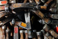 Free Hammers Royalty Free Stock Photography - 21237997