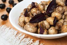 Free Fried Mushrooms Stock Photo - 21238130
