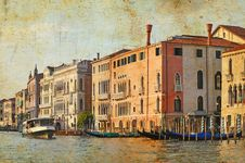 Venetian Grand Channel Royalty Free Stock Image