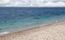 Shoreline On Machinac Island In Michigan Royalty Free Stock Photography