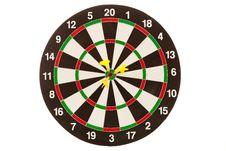 Free Yellow Darts Royalty Free Stock Image - 21238476