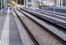 Free Empty Railway Station Stock Photo - 21238480