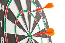 Free Red Darts Royalty Free Stock Photography - 21238837