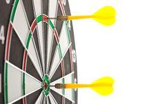 Free Yellow Darts Royalty Free Stock Images - 21238959
