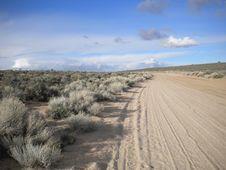 Free Desert Road Royalty Free Stock Photo - 21239085