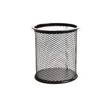 Free Black Basket For Pens Royalty Free Stock Image - 21239236