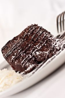 Free Chocolate Cake Dessert Stock Images - 21239624