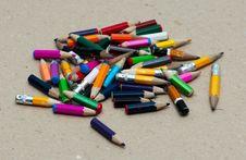 Free Pencils Royalty Free Stock Photo - 21239625