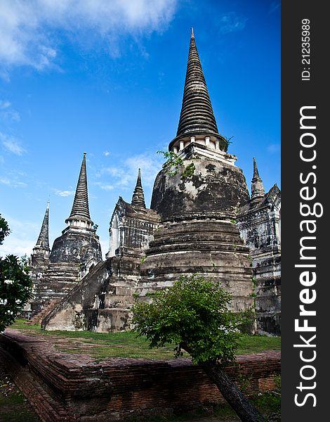 Wat Phra Sri Sanphet of  Ayutthaya
