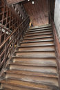 Free Brown Old Style Wood Ladder Home Royalty Free Stock Photos - 21243498