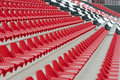 Free Red & White & Black Stadium Stands Stock Photos - 21245103
