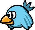 Free Blue Bird Stock Images - 21245154