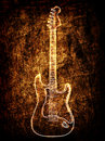 Free Electric Guitar Background Royalty Free Stock Images - 21245659