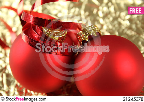 Free Christmas And New Year Background Royalty Free Stock Photos - 21245378