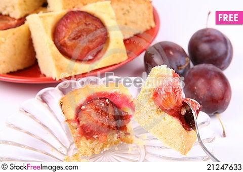 Free Plum Pie Stock Photos - 21247633