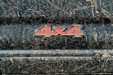Free Dirty 4x4 Stock Photos - 21240073