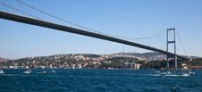 Free Bosphorus Bridge Stock Photography - 21240132