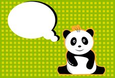Free Panda And Card Stock Images - 21240364