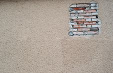 Free Cracked Plaster And Brick Stock Photos - 21240593