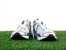 Free Runners Royalty Free Stock Photography - 21242137