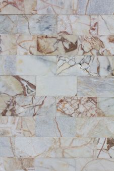 Free Marble Wall Tile Pattern. Stock Photos - 21242313