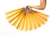 Free Strong Arm Holding Bags Royalty Free Stock Image - 21242466