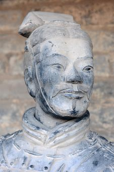 Free Terracotta Warrior Royalty Free Stock Photography - 21243217