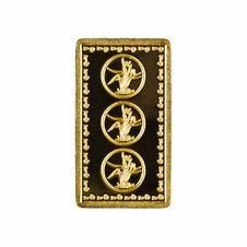 Free Gold Bars On White Background Stock Photos - 21244223