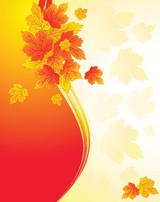 Free Autumn Background Royalty Free Stock Photography - 21244377
