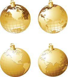 Free Christmas Background Royalty Free Stock Image - 21244396