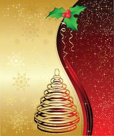 Free Christmas Background Stock Photography - 21244422